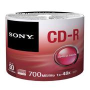 ◆免運費◆SONY CD-R 48X 700MB (50P裸裝x1) 50PCS