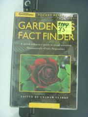 【書寶二手書T4/園藝_JNP】Gardener's fact finder_Graham Clarke