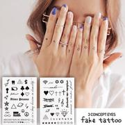 3CE 紋身貼紙 3 CONCEPT EYES FAKE TATTOO 批發【櫻桃飾品】【24040】