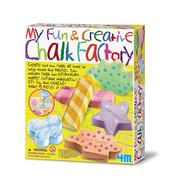 《4M美勞創作》My Fun & Creative Chalk Factory 趣味粉筆畫