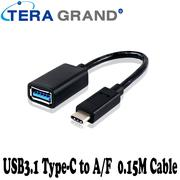 TERA GRAND-USB3.1 Type-C to A/F 0.15m cable (USB31-WU78)