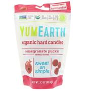 [iHerb] YumEarth, Organic Hard Candies, Pomegranate Pucker, 3.3 oz (93.6 g)