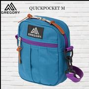 GREGORY Quick Pocket (M) OUICK POCKET斜背包-藍/紫 GG65459-6633