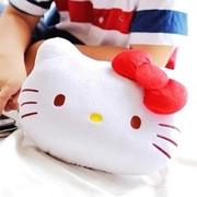 May Shop【S102050206】HELLO KITTY 大頭造型小抱枕