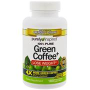 [iHerb] Purely Inspired, Green Coffee+, 100 Veggie Tablets