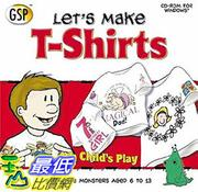 [106美國暢銷兒童軟體] Let's Make T-shirts, Cd-rom, Windows 95/98/Me/XP Compatible