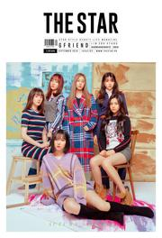 THE STAR GFRIEND MXM KOREA MAGAZINE 2018 SEP SEPTEMBER NEW