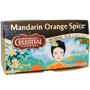 [iHerb] Celestial Seasonings, Mandarin Orange Spice Herbal Tea, Caffeine Free, 20 Tea Bags, 1.9 oz (54 g)