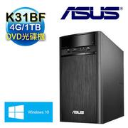 【ASUS華碩】K31BF AMD A8-7600四核 4G記憶體 Win10電腦 (K31BF-0011A760UMT)