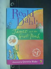 【書寶二手書T7/原文小說_GOW】James and the Giant Peach_Dahl