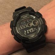 G-SHOCK GD-100-1BDR 卡西歐LED手錶