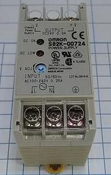 OMRON S82K-00724 Power Supply 24V 0.3A 100-240VAC  直流電源供應器  PLC電子控制料件