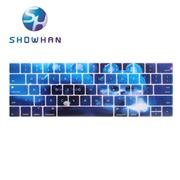 【SHOWHAN】Apple MacBook Pro Touch Bar 13吋英文鍵盤膜 夢幻貓咪