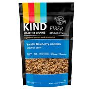 [iHerb] KIND Bars, Healthy Grain, Vanilla Blueberry Clusters with Flax Seeds, 11 oz (312 g)
