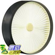 [106美國直購] Hoover B00C4VNAIC Primary Pleated Filter; Fits Hoover Sprint QuickVac Bagless Upright UH20040 濾網