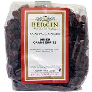 [iHerb] Bergin Fruit and Nut Company, Dried Cranberries, 12 oz (340 g)