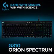羅技 Logitech G810 ORION SPECTRUM RGB機械式遊戲鍵盤