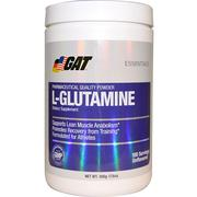 GAT, L-Glutamine, Unflavored, 17.6 oz (500 g)