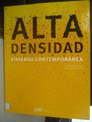 【書寶二手書T7/建築_ZDU】Alta densidad / High density_Alejandro