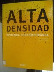 【書寶二手書T6/建築_ZDU】Alta densidad / High density_Alejandro