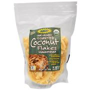 Edward & Sons, 100% Organic, Toasted Coconut Flakes Unsweetened, 7 oz (200 g)