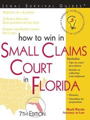 How to Win in Small Claims Court in Florida
