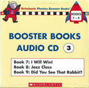 Phonics Booster Books Audio CD 03 (Book 07-09)