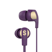 Skullcandy Smokin Buds 2 耳機 帶線控與咪 Ill Famed Purple S2PGHY-496 香港行貨