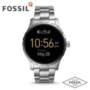 FOSSIL Q MARSHAL智慧錶 FTW2109/銀白鏈帶 ios+android兼容/45mm