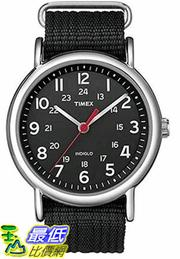 [105美國直購] Timex Unisex Weekender Analog Nylon Slip-Thru Strap Watch