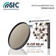 【STC】IR-CUT 6-stop ND64 Filter(77mm 零色偏ND64減光鏡)