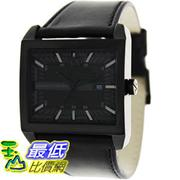 [美國直購 ShopUSA] Armani Exchange 手錶 Men's AX2205 Black Leather Quartz Watch with Black Dial #1681895134_mr