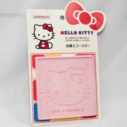 Hello Kitty 珪藻土 杯墊 強力吸水 日本帶回正版