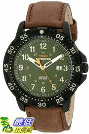 [105美國直購] Timex Mens T499969J Expedition Camper Trail Watch with Brown Leather Band
