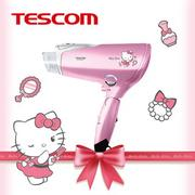【現貨免運】TESCOM TCD4000TW Hello Kitty 膠原蛋白 吹風機 負離子 群光公司貨