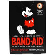 [iHerb] Band Aid, Adhesive Bandages, Disney Mickey Mouse, 20 Assorted Sizes