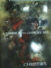 【書寶二手書T3/收藏_XBZ】Christie's_Chinese 20th…Art_2008/11/30