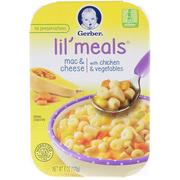 [iHerb] [iHerb] Gerber Lil' Meals, Mac & Cheese, With Chicken & Vegetables, Toddler, 6 oz (170 g)