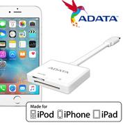 ADATA 威剛 Card Reader Lightning 讀卡機 Apple認證