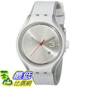 [美國直購] Swatch Men's YES4005 Irony Analog Display Swiss Quartz White Watch 手錶