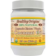 [iHerb] Healthy Origins, Organic Extra Virgin Coconut Oil, 29 oz (822 g)