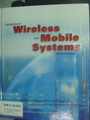 【書寶二手書T8/大學理工醫_QDL】Introduction To Wireless And Mobile Syste