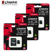 金士頓 Kingston 128GB microSDXC TF UHS-I U3 V30 記憶卡