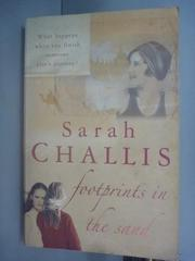 【書寶二手書T3/原文小說_YGN】Footprints in the Sand_Sarah Challis