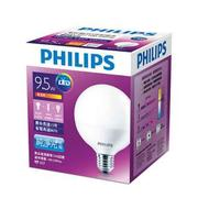 【飛利浦 PHILIPS LIGHTING】LED Globe 球型燈泡_9.5瓦(暖白色)