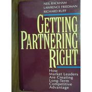 【書寶二手書T2/財經企管_POR】Getting partnering right_Rackham