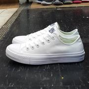 Converse Chuck Taylor All Star II 2代 低筒 白色 帆布 LUNARLON 鞋墊 150154C
