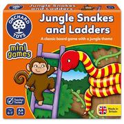 【Orchard Toys】可攜桌遊-叢林遇到蛇(Jungle Snakes and Ladders Mini Game)
