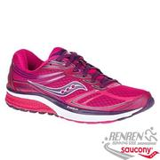 SAUCONY GUIDE 9 女慢跑鞋 (桃紅)