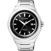 CITIZEN ECO-Drive 超級鈦都會時尚腕錶-黑/43mm AW1251-51E